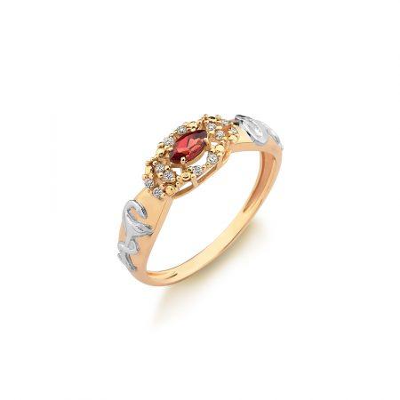 Anel Formatura em ouro 18k-750 com diamantes - 160050br