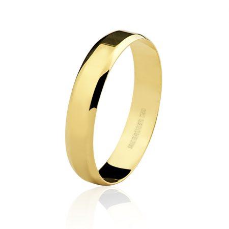 Aliança em ouro amarelo 18k - 7501022000
