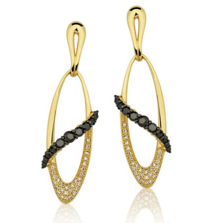 Brinco de Ouro Feminino com Diamantes 0233632704