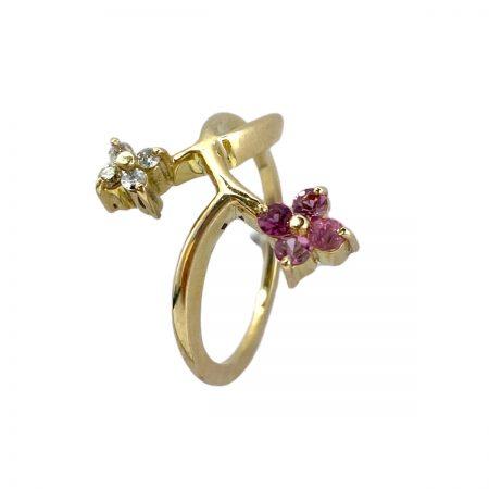Anel-em-ouro-18k-com-quatro-rubis-e-quatro-diamantes-AN385-94